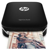 Fototiskárna HP Sprocket Photo Printer 512 MB, USB - černá