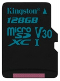 Paměťová karta Kingston Canvas Go! MicroSDXC 128GB UHS-I U3 (90R/45W)