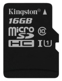 Paměťová karta Kingston Canvas Select MicroSDHC 16GB UHS-I U1 (80R/10W)