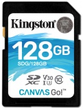 Paměťová karta Kingston Canvas Go! SDXC 128GB UHS-I U3 (90R/45W)