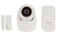 IP kamera König SAS-SETIPC011W + dveřní/okenní senzor + detektor pohybu - bílá