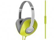Sluchátka Koss UR23IG - šedá/žlutá