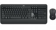 Klávesnice s myší Logitech Wireless Combo MK540 Advanced, CZ/SK  - černá