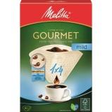 Filtry do kávovaru Melitta 1 x 4, 80 ks Gourmet Mild