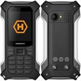 Mobilní telefon myPhone Hammer Patriot - černý/stříbrný