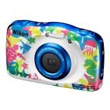 Fotoaparát Nikon Coolpix W100 marine + dětský batoh ZDARMA