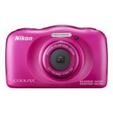 Fotoaparát Nikon Coolpix W100 ružový + ditský batoh ZDARMA