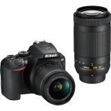 Zrc. Nikon D3500 + 18-55 AF-P VR, 70-300AF-P VR