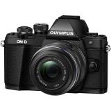 CSC fotoaparát Olympus E-M10 Mark III + 14-42, černý/černý