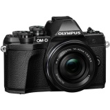 CSC fotoaparát Olympus E-M10 Mark III + ED 14-42 EZ, černý/černý
