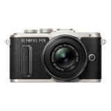 CSC fotoaparát Olympus E-PL8 + ED 14-42 EZ Pancake, černý