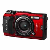 Fotoaparát Olympus TG-5, červený
