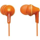 Sluchátka Panasonic RP-HJE125E-D oranžová