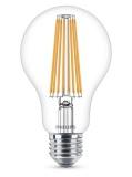 Žárovka LED Philips klasik, 11W, E27, teplá bílá