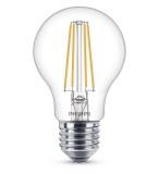 Žárovka LED Philips klasik, 7W, E27, teplá bílá