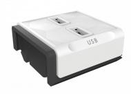 Zásuvka Powercube Module 2x USB - bílá