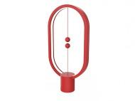 Stolní LED lampička Powercube Heng Balance Plastic Ellipse USB - červená