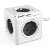 Kabel prodlužovací Powercube Extended, 5x zásuvka, 1,5m - šedý/bílý