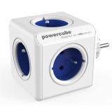 Zásuvka Powercube Original, 5x zásuvka - bílá/modrá