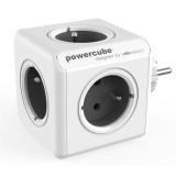Rozbočovací zásuvka Powercube Original 5x zásuvka - šedá/bílá
