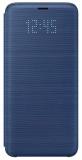 Pouzdro na mobil flipové Samsung LED View na Galaxy S9 (EF-NG960P) - modré