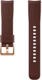 Výměnný pásek Samsung silikonový pro Galaxy Watch ET-YSU81M 20mm - hnědý