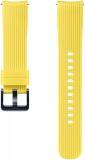 Výměnný pásek Samsung silikonový pro Galaxy Watch ET-YSU81M 20mm - žlutý