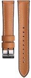 Výměnný pásek Samsung kožený pro Galaxy Watch GP-R805BR 22mm - hnědý