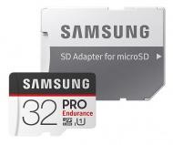 Paměťová karta Samsung Micro SDHC PRO endurance 32GB UHS-I U1 (100R/30W) + adapter
