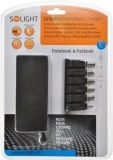 Napájecí adaptér Solight DA32 univerzální pro notebooky/netbooky, 48W, 6 koncovek, automat
