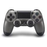 Gamepad Sony Dual Shock 4 pro PS4 v2 - metalicky černá