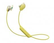 Sluchátka Sony WI-SP600NY - žlutá