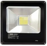 LED reflektor Tesla 30W, studená bílá, 2265lm - černý