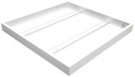 Montážní rámeček pro LED panely Tesla 600 x 600 mm - lesklý bílý