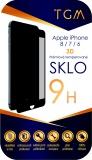 Ochranné sklo TGM 3D pro Apple iPhone 6/7/8 - černé