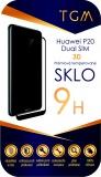 Tvrzené sklo TGM 3D na Huawei P20 Dual SIM - černé
