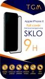 Tvrzené sklo TGM Full Cover na Apple iPhone X/Xs/11 Pro - černé