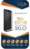 Ochranné sklo TGM Full Cover pro Huawei Nova 3 - černé