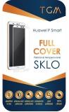 Tvrzené sklo TGM Full Cover na Huawei P Smart - bílé