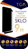 Ochranné sklo TGM Full Cover na Xiaomi Redmi Note 5 - černé