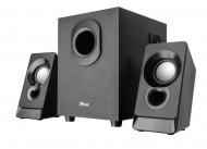 Reproduktory Trust Argo 2.1 Subwoofer Speaker Set - černé