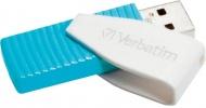 Flash USB Verbatim Store \'n\' Go Swivel 8GB USB 2.0 - modrý