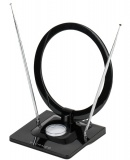 Anténa pokojová Vivanco TVA 3050 - černá