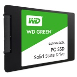 SSD Western Digital Green 2.5\'\', 240GB, SATA/600, 7mm, 3D NAND