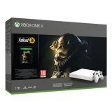 Herní konzole Microsoft Xbox One X 1 TB + Fallout 76 Robot White Special Edition