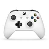 Gamepad Microsoft Xbox One S Wireless - bílý