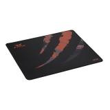 Podložka pod myš Asus STRIX Glide Control Pad, 40 x 30 cm - černá/oranžová