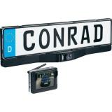 Bezdrátová couvací kamera Conrad v rámečku SPZ