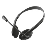 Headset Trust Primo Chat Headset - černý
