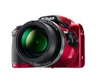 Fotoaparát Nikon Coolpix B500, červený